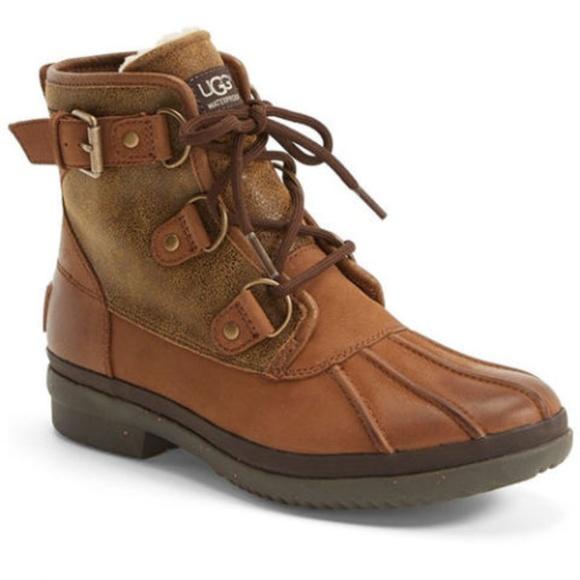 dc4ffa3e6ce Ugg Australia Cecile Duck Boots